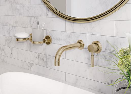 Gold Taps – My bathroom update (Part 1)