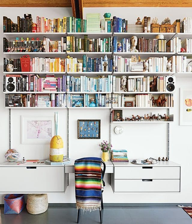 Delightful Shelf Help U2013 Home Office Shelving Ideas